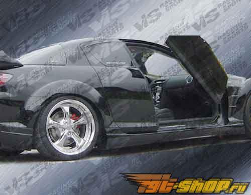 Пороги на Mazda RX8 2003-2007 Razor