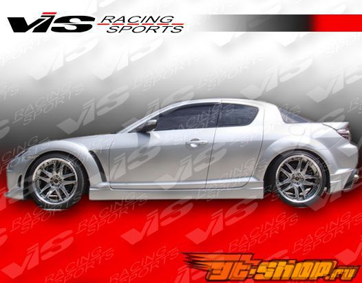 Пороги для Mazda RX8 2003-2007 Wings