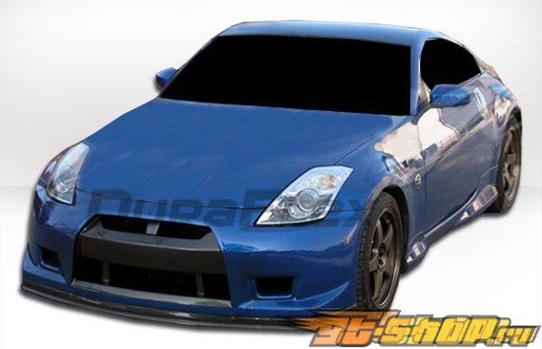 Передний бампер для Nissan 350Z 2003-2008 GT-R Duraflex