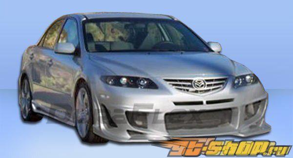 Пороги на Mazda 6 2003-2008 Bomber Duraflex