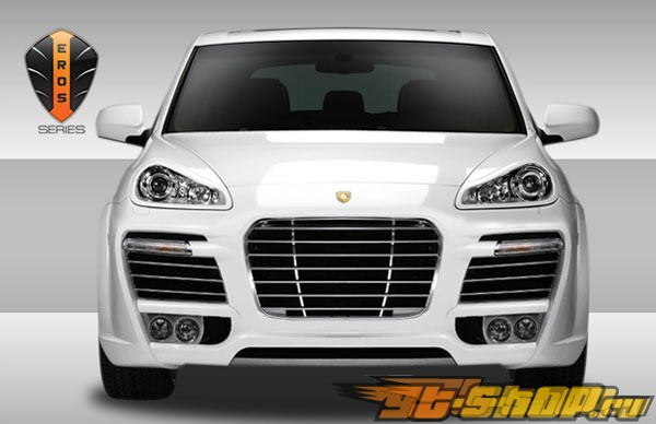Решётка радиатора Eros Version 1 на Porsche Cayenne 2003-2010