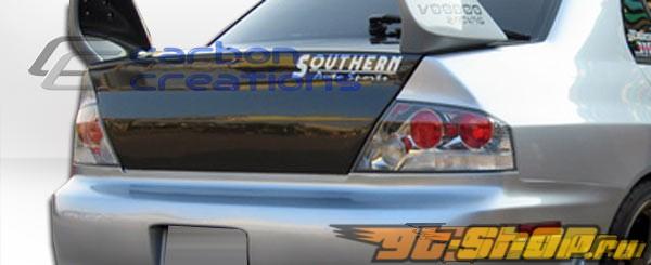 Карбоновый багажник на Mitsubishi Evolution 8/9 03-07 стандартный