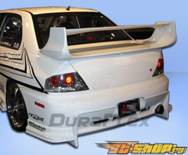 Задний бампер для Mitsubishi Evolution 8/9 03-07 Vader Duraflex