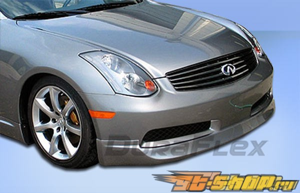 2003-2006 Infiniti G35 2dr Wings Front Lip