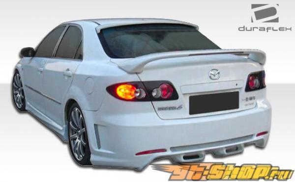 Пороги Naiser на Mazda Mazda6 2003-2008