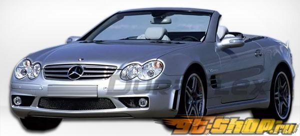 2003-2008 Mercedes SL R230 SL65 Look Front Bumper