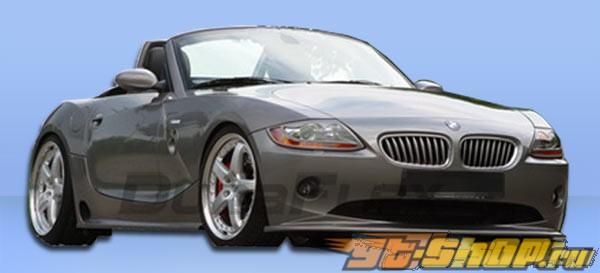 Губа на передний бампер для BMW Z4 03-05 HM-S Duraflex