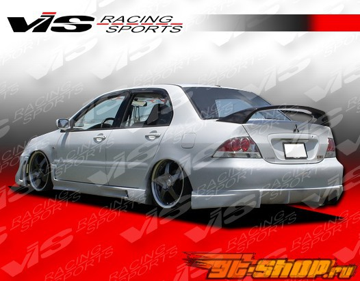 Задний бампер для Mitsubishi Lancer 2004-2007 Rally