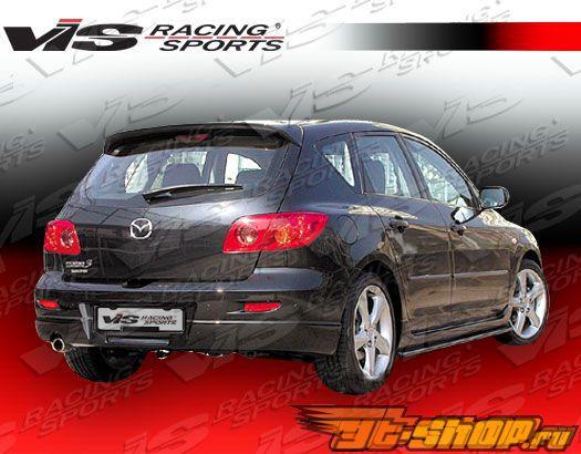 Накладка на задний бампер для Mazda 3 2004-2008 A Spec