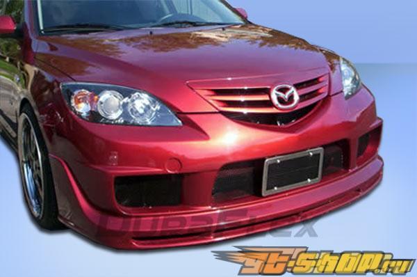 Передний бампер на Mazda Mazda3 04-09 K-1 Duraflex