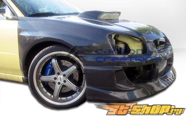 2004-2005 Subaru Impreza Carbon Creations GT Competition Front Bumper  Carbon Creations