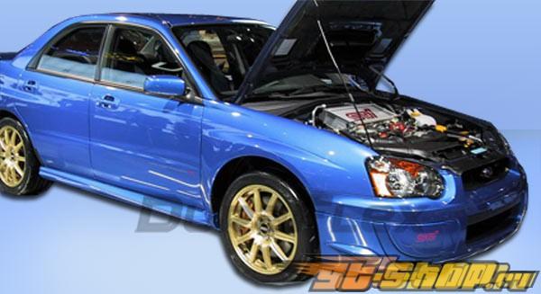 Пороги для Subaru Impreza WRX 02-07 STI Duraflex