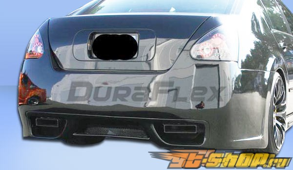 Задний бампер для Nissan Maxima 04-06 GTR Duraflex