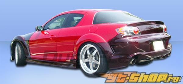 Пороги на Mazda RX-8 04-10 GT Competition Duraflex