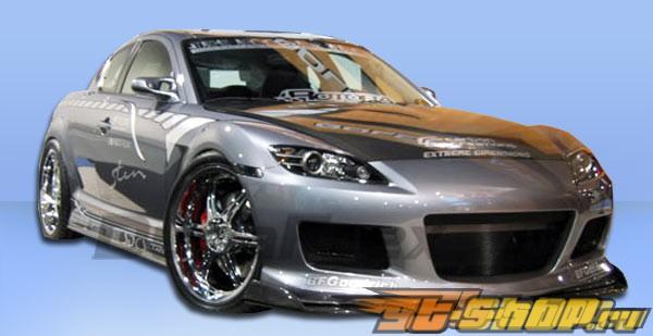 Пороги на Mazda RX-8 04-10 M-1 Speed Duraflex