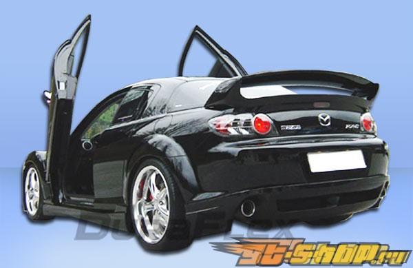 Пороги для Mazda RX-8 04-10 R-Speed Duraflex