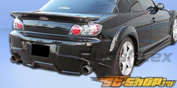Задний бампер для Mazda RX-8 04-10 Velocity Duraflex