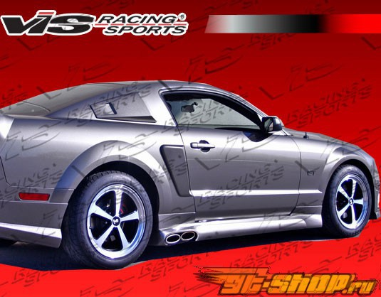 2005-2009 Ford Mustang 2dr Stalker 2 Side Scoop