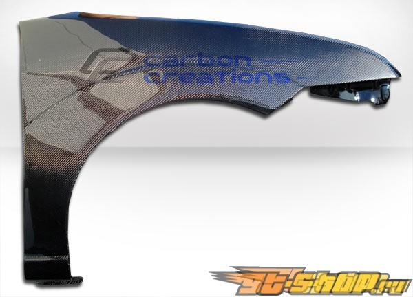Крылья для Ford Focus 05-07 стандартный Карбон
