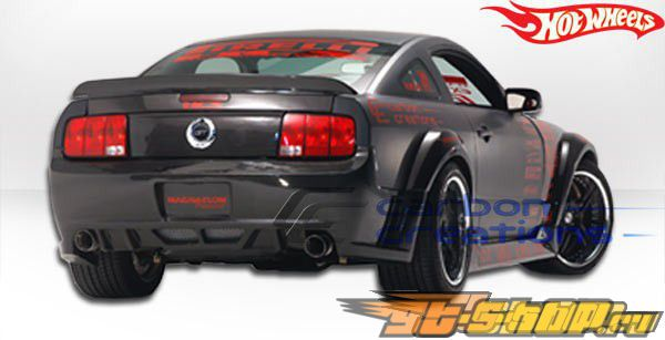 Спойлер на Ford Mustang 2005-2009 Hot Литые диски Карбон