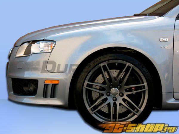 Передние крылья для Audi A4 2006-2008 RS4 Duraflex