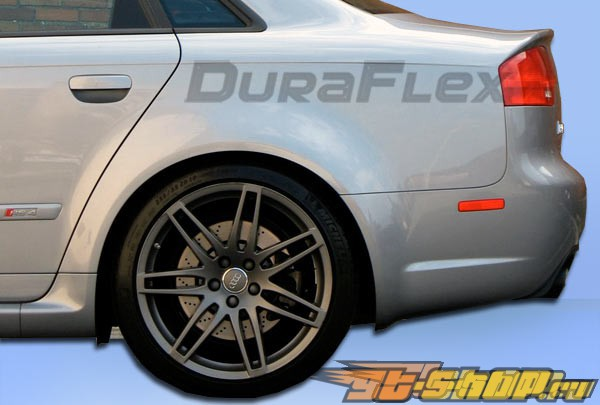 2006-2008 Audi A4 4DR RS4 Widebody Rear Fender Flares