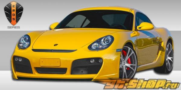 Решётка радиатора Version 1 Eros для Porsche Cayman| 2005-2011 2007-2008