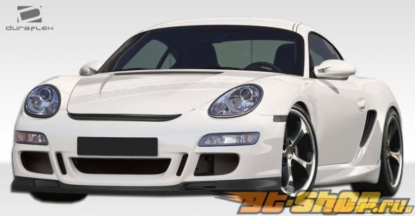 2006-2008 Porsche Cayman/ 2005-2008 Porsche Boxster GT3-RS Look Front Bumper