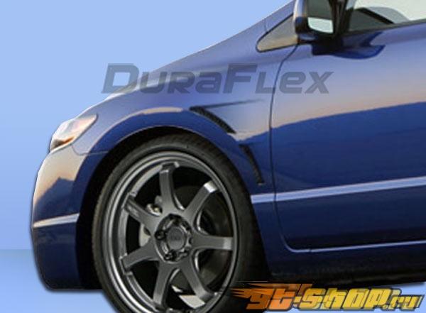 Крылья для Honda Civic 06-10 GT-Concept Duraflex