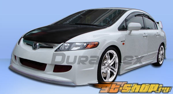 Обвес по кругу для Honda Civic 06-10 R-Spec Duraflex