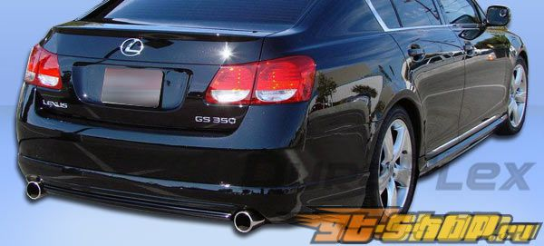 Задняя губа для Lexus GS 08-10 Wings Duraflex