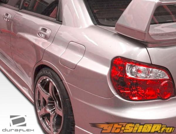 2006-2007 Subaru Impreza 4dr GT500 Wide Body Kit
