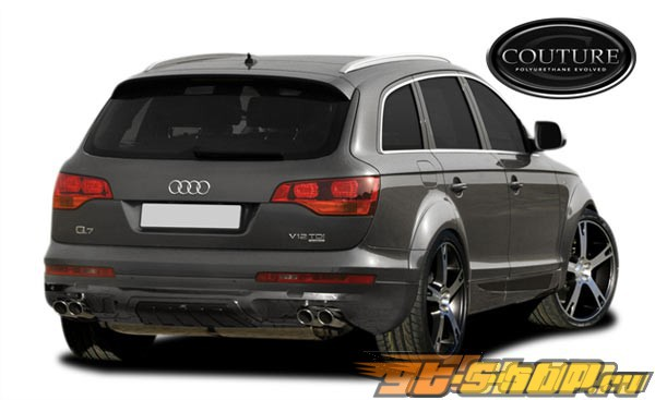 2006-2009 Audi Q7 Couture A-Tech Fender Flares (10-Pieces) Couture