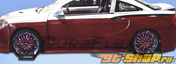 Накладки на двери на Chevrolet Cobalt 05-10 SG Duraflex
