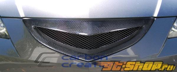 Карбоновая решётка радиатора для Mazda 3 07-09