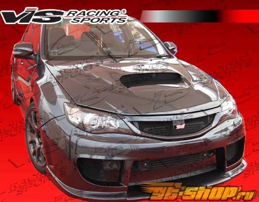 Передний бампер для Subaru  Impreza WRX STI 2008-2009