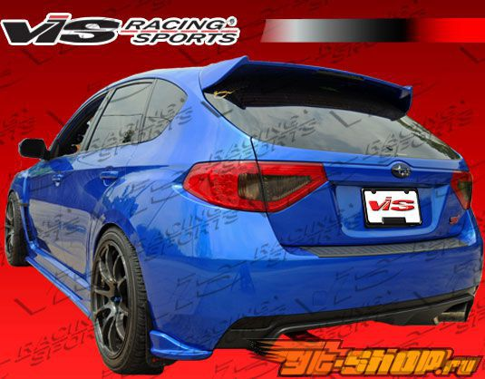 Задняя губа для Subaru Impreza WRX STi 2008-2009 Z Speed