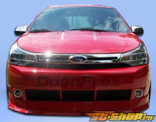 Передняя губа для Ford Focus 2008-2010 Racer Duraflex