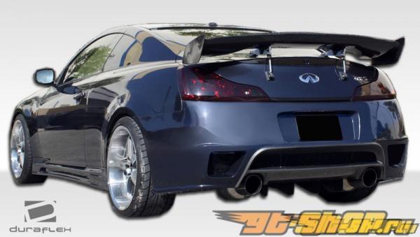 Задний бампер GT-R на Infiniti G Coupe 2008-2011