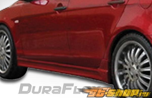Пороги C-1 для Mitsubishi Lancer 2008-2011