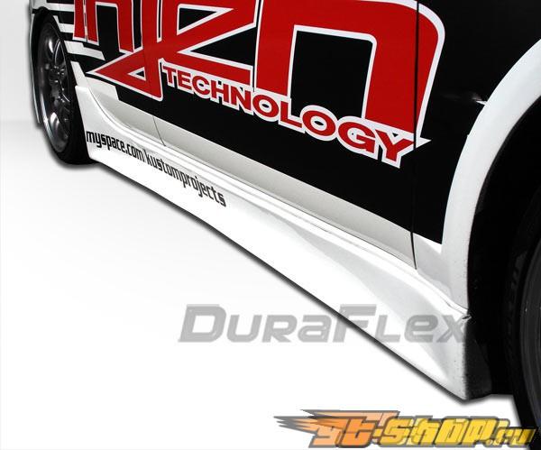 Пороги для Mitsubishi Lancer X 08-10 GT-Concept Duraflex