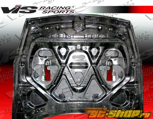 Карбоновый капот на Nissan Skyline R35 2009-2009 GTR стандартный Стиль (из сухого карбона)