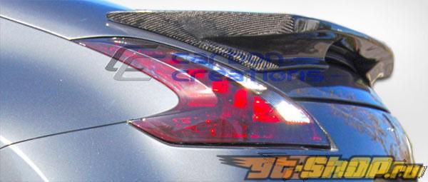 Карбоновый спойлер N-1 на Nissan 370Z 2009-2010