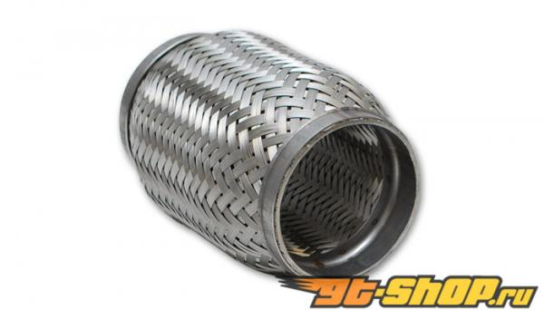 "Standard Flex Coupling w/ Inner Braid Liner, 2.5"" dia. x 6"" long"