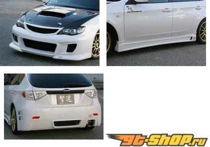 Обвес Chargespeed по кругу Subaru Impreza 10