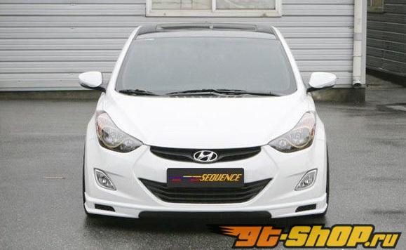 Аэродинамический обвес Sequence на Hyundai Elantra V 2010+