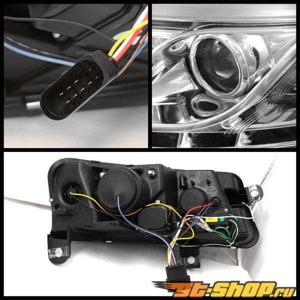 Передняя оптика на 2005-2008 Audi A6 R8 DRL LED Projector