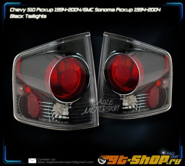 Задние фары для Chevrolet Sonoma 94-04 Чёрный