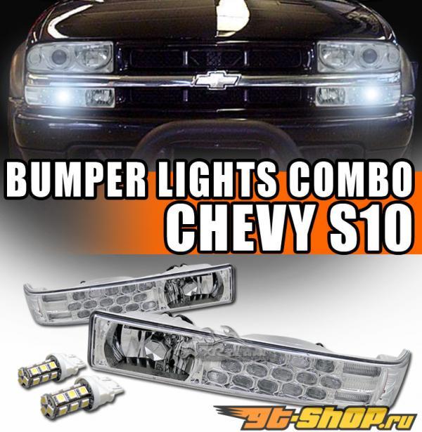 Поворотники на Chevrolet Sonoma 94-04 Clear