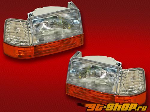 Передние фонари для Ford F350 92-96